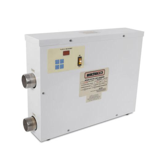 9KW Water Heater Thermostat Swimming Pool SPA Hot Tub 220V