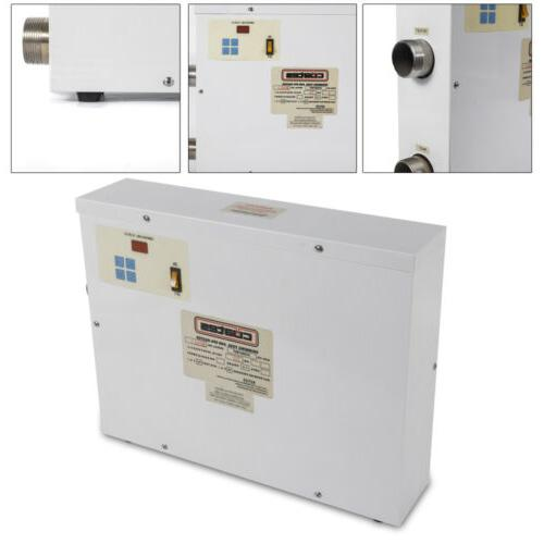 9kw electric water heater thermostat home swimming