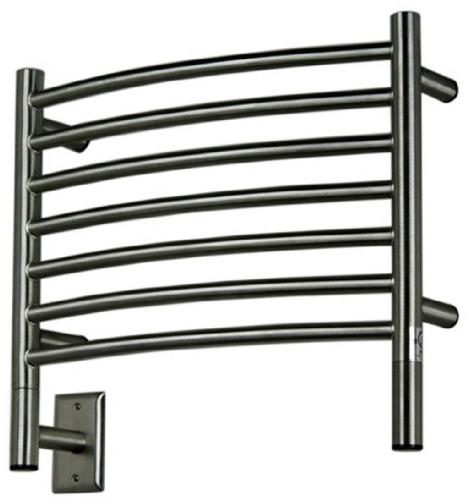Amba HCB-20 20-1/2-Inch x 18-Inch Curved Towel Warmer, Brush
