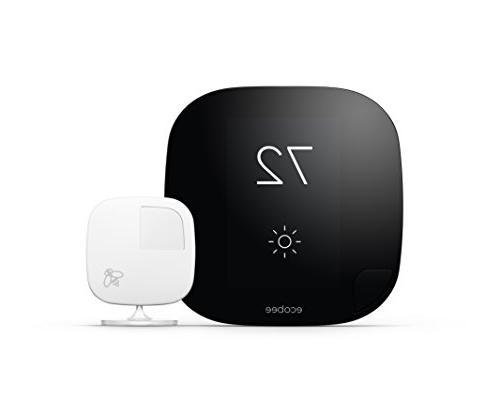 Ecobee - Touch-screen Wi-fi Black/white