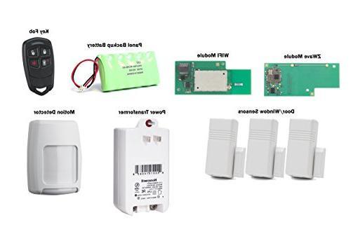 Honeywell Wireless Kit with Wifi and Zwave