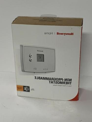 Honeywell #RTH111B  Heat/Cool  Non-Programmable  Low-Volt Th