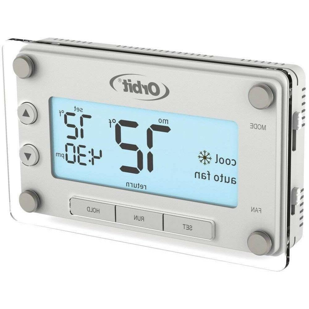 Ac Home Thermostat Best Programmable Heat Cool 7 Day Star LED