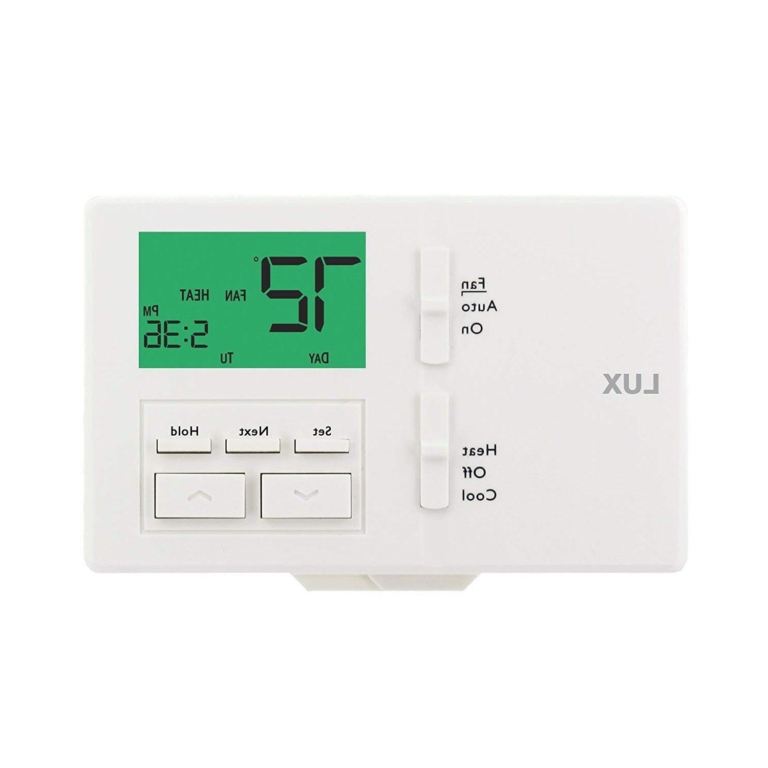 Ac Thermostat Programmable 7 Day Energy Days