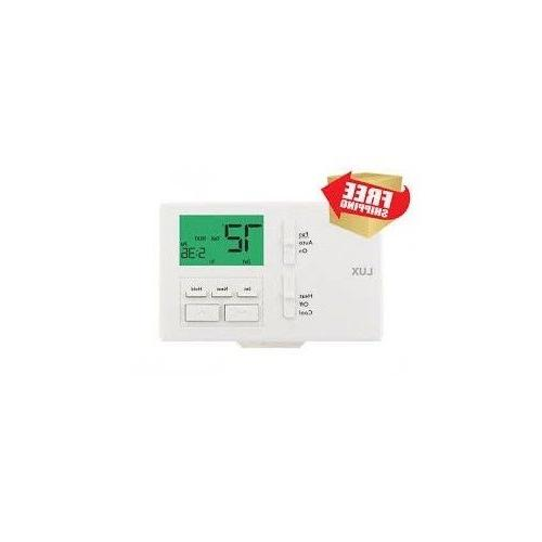 Ac Thermostat Programmable Cool 7 Energy Days