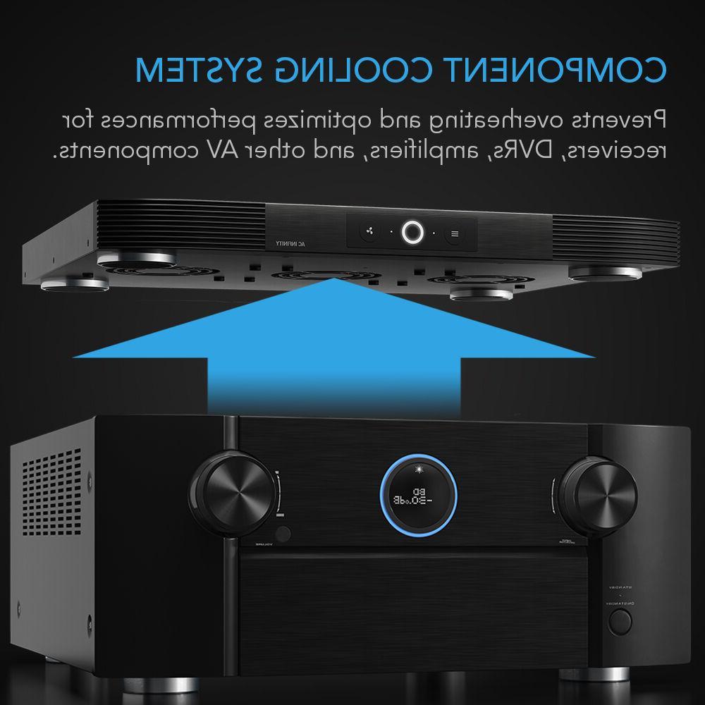 "AIRCOM Quiet Fan System 17"" Receivers, Components"
