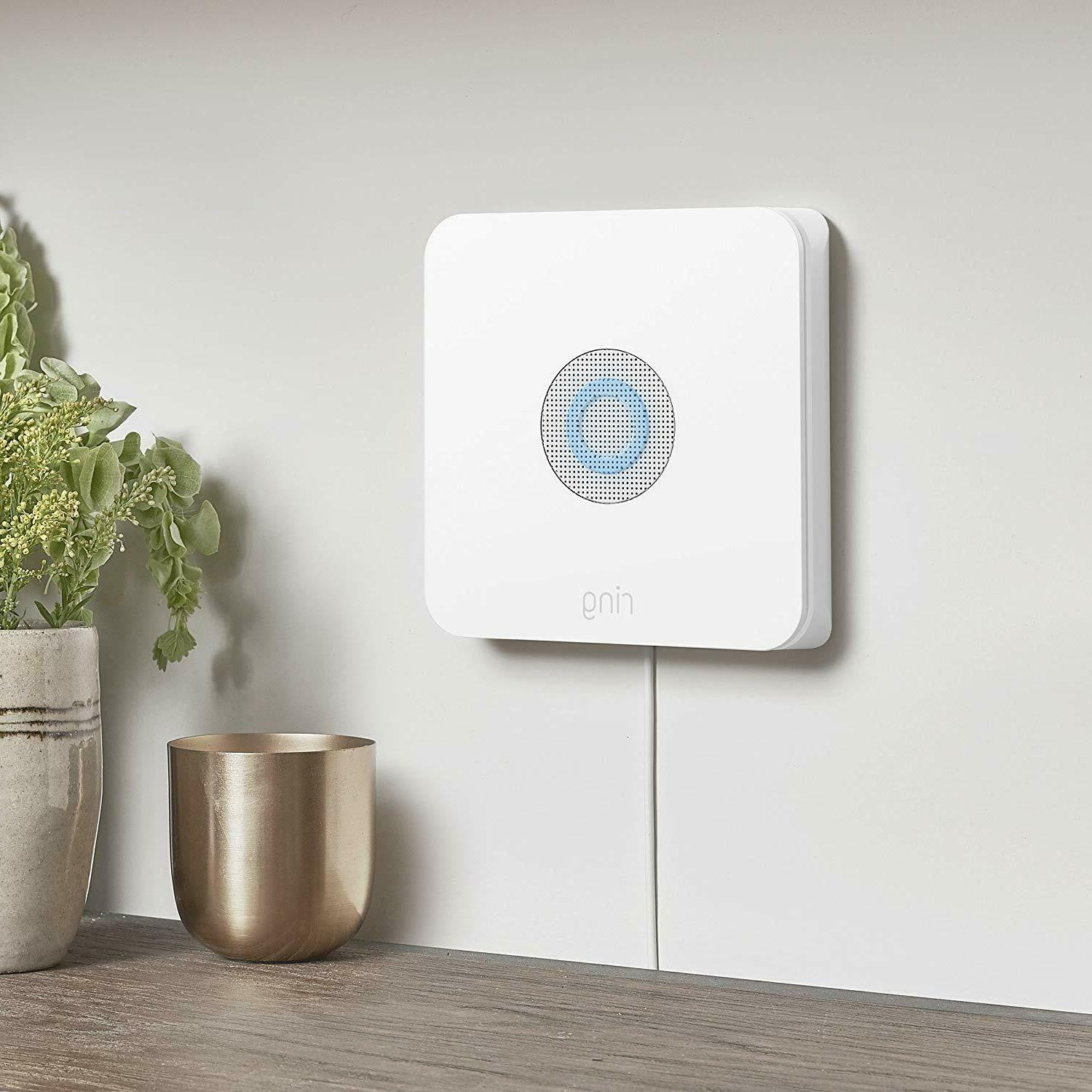 Ring Alarm Security + Dot Works with