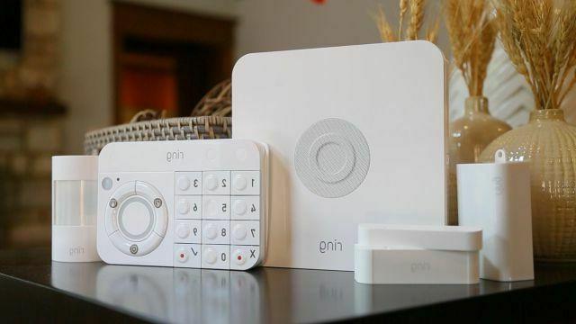 alarm home security echo dot 3rd gen