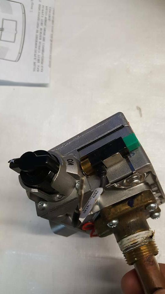 Rheem AP14270G Thermostat, Gas