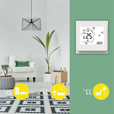 App Control Thermostat Floor day