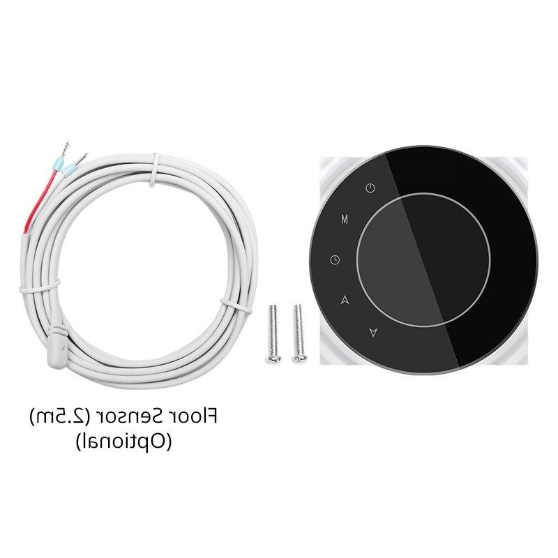 BHT-6000-GALWB Water floor Heating LCD Screen Wifi <font><b>Thermostat</b></font> <font><b>Remote</b></font> Works with Alexa <font><b>Home</b></font>