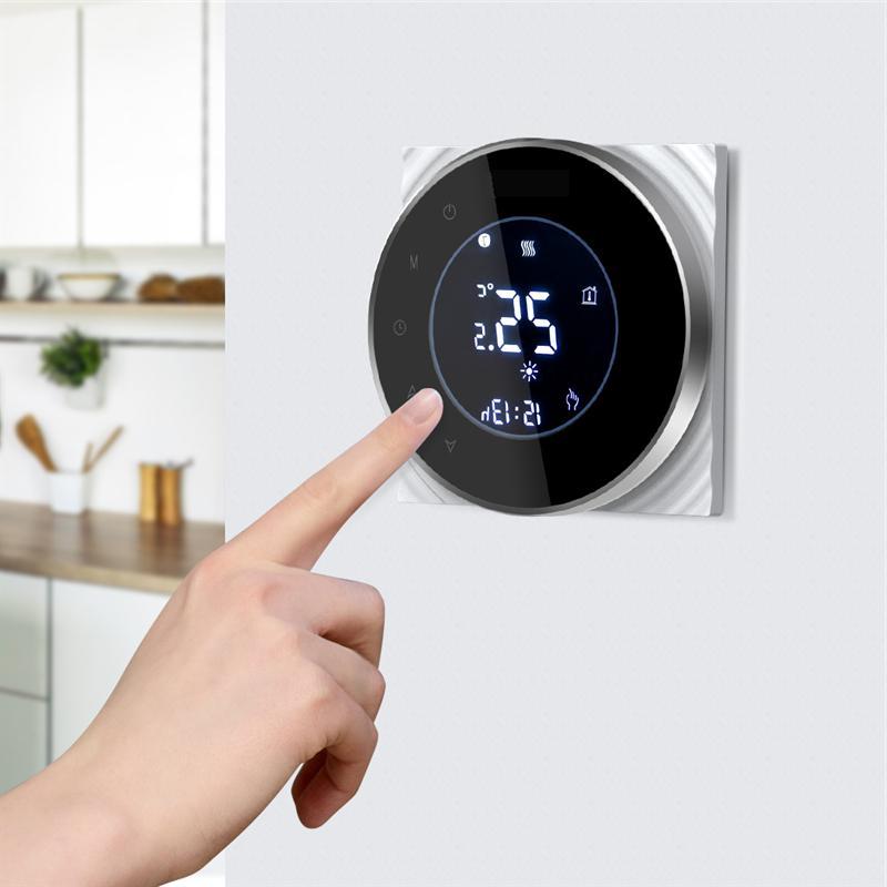 BHT-6000-GALWB Water Heating LCD Touch <font><b>Thermostat</b></font> <font><b>Control</b></font> <font><b>Home</b></font>