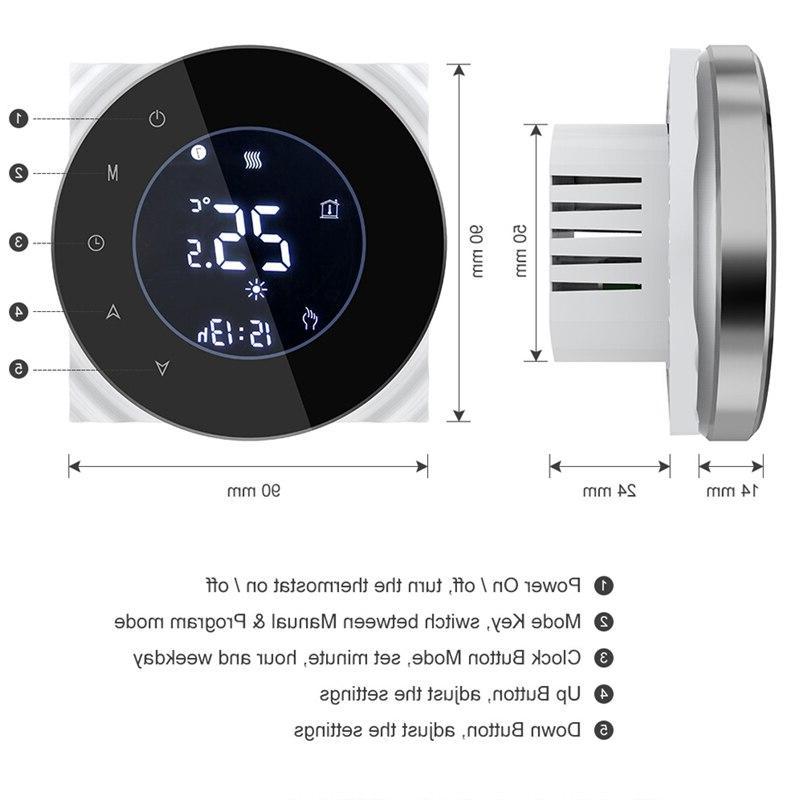 BHT-6000-GALWB Water floor LCD <font><b>Home</b></font>