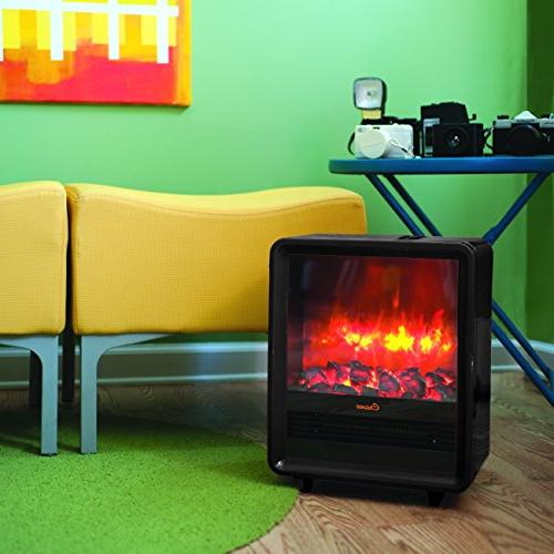 Crane Fireplace Heater EE-8075BK