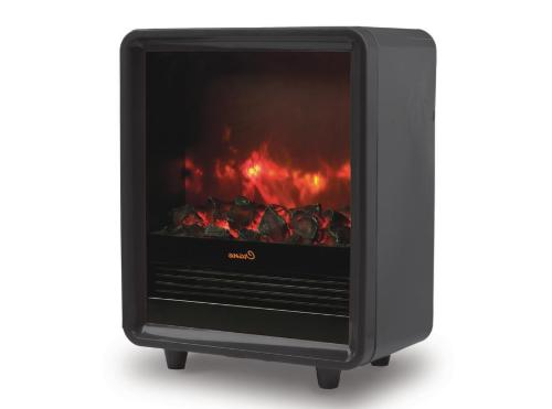 black fireplace heater ee 8075bk