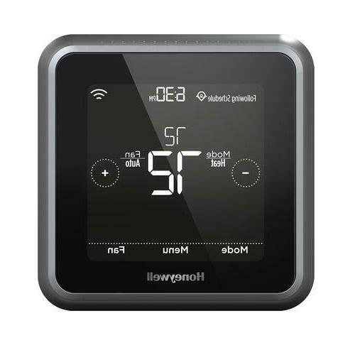black t5 wifi smart thermostat programmable home
