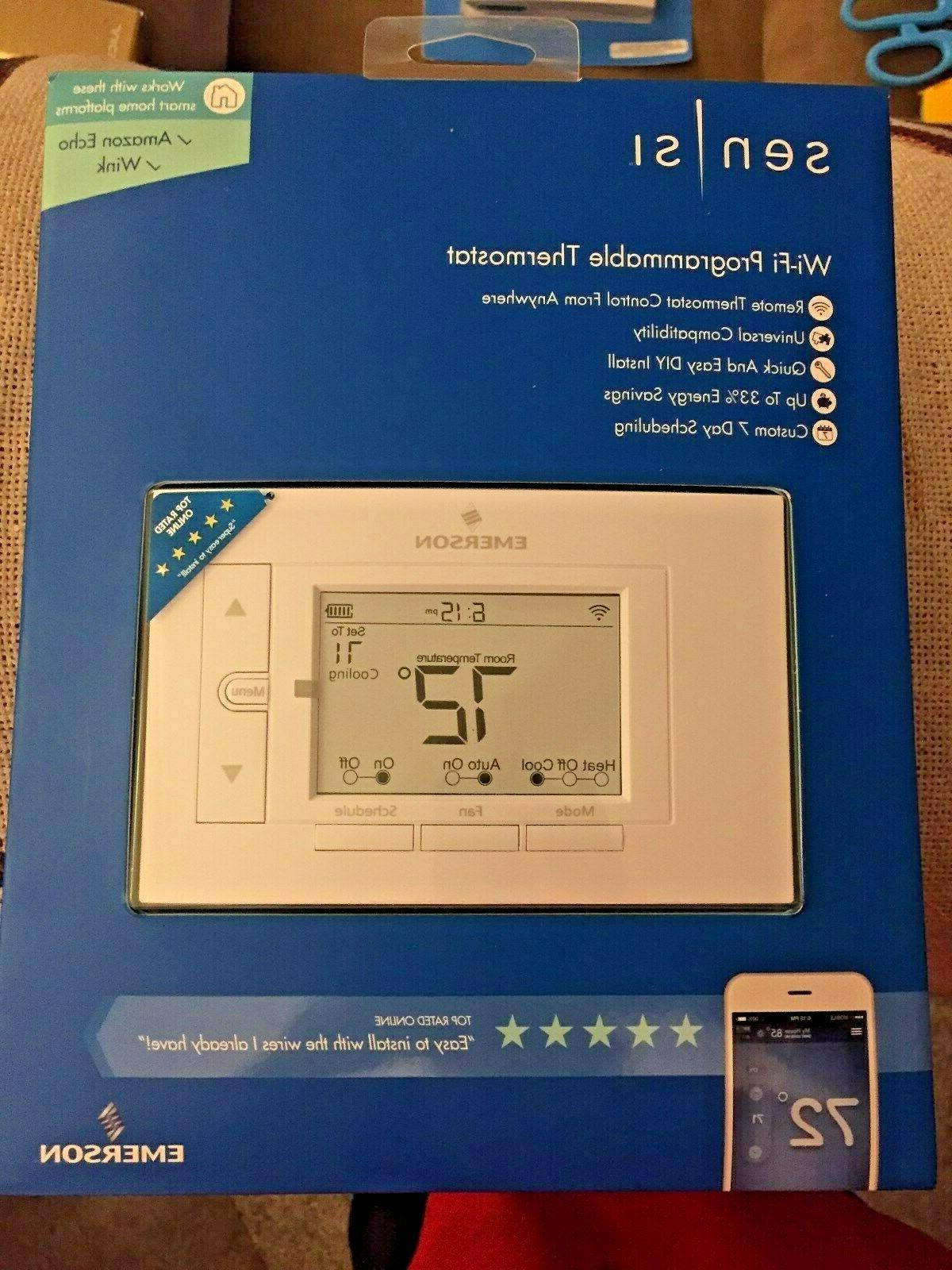 BRAND NEW !!  Emerson UP500W Sensi Wi-fi Programmable Thermo