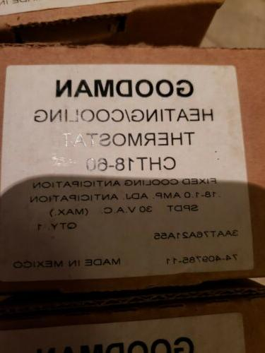 brand new nib heating cooling thermostat model