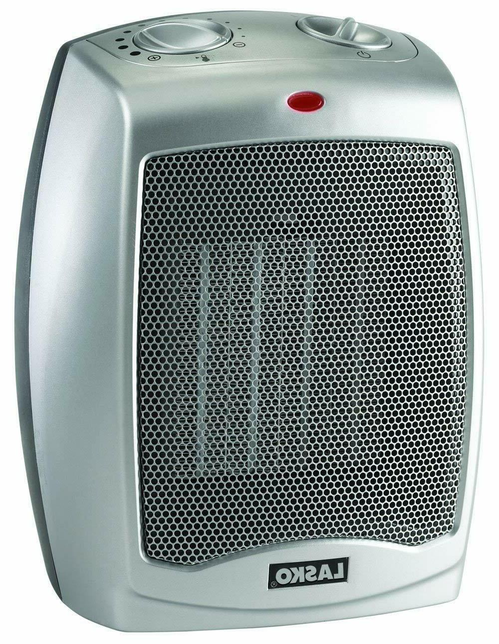 Ceramic Portable Space Heater with Adjustable - Home