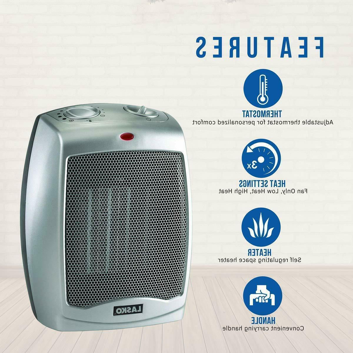 ceramic portable space 754200 heater with adjustable