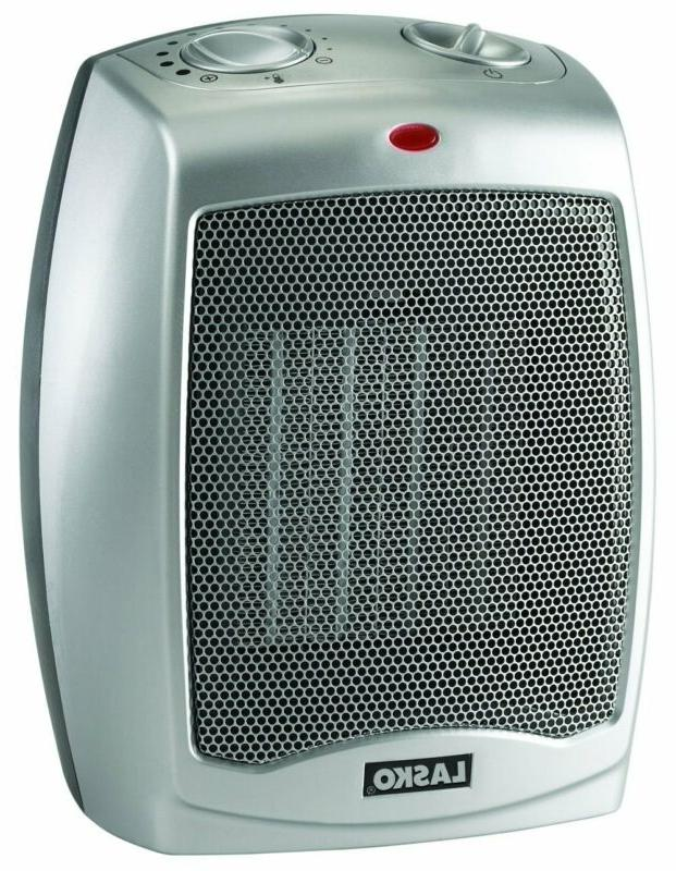 Ceramic Portable Space Heater With Adjustable Thermostat Per