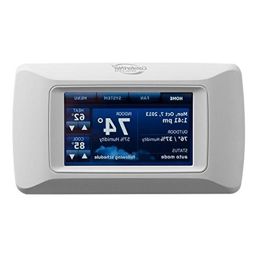comfortnet communicating touchscreen programmable thermostat