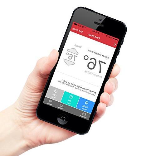 Radio Communicating Thermostat, WiFi
