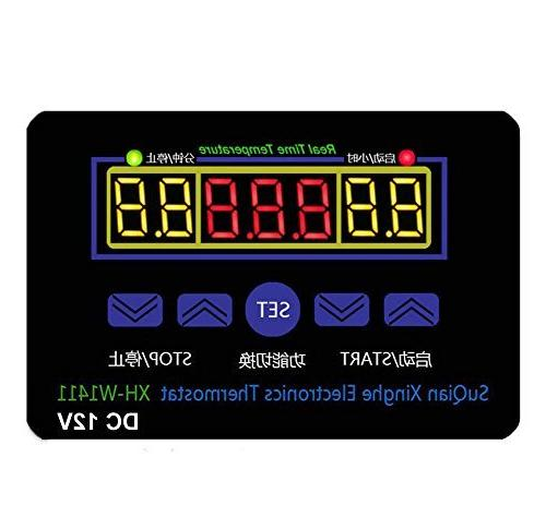dc 10a multifunction temperature controller