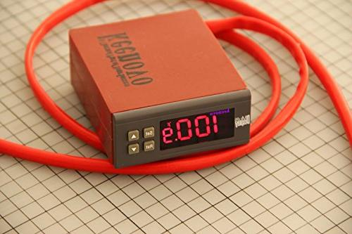 """Dia 10"""" 500W, KEENOVO Heater Mat, Liquid Mixing Tank Heating w/Digital Thermostat"""