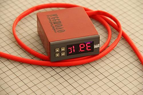 Dia KEENOVO Silicone Mat, Liquid Holding Mixing Tank Heating Pad, w/Digital Thermostat