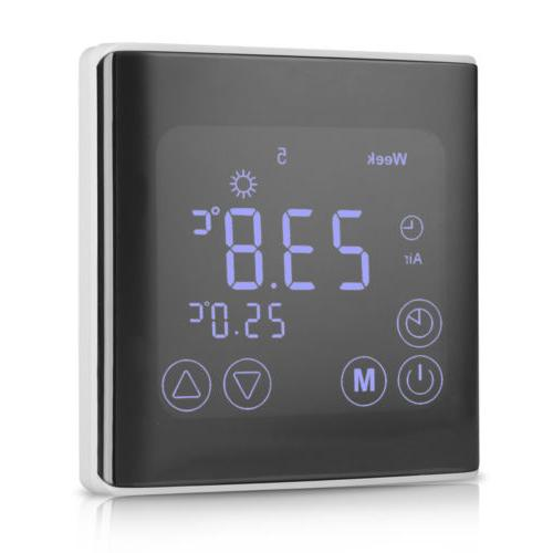 Floureon Digital LCD Display Thermostat Heating Temperature Controller