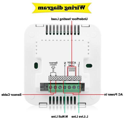 Digital Heating Temp Controller