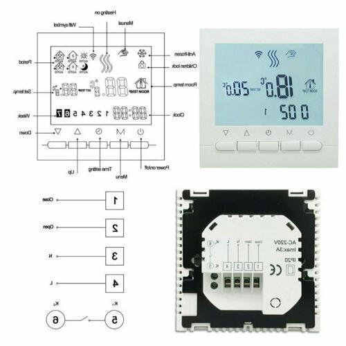 Digital Smart Thermostat Home