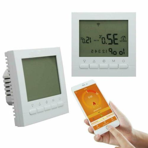 Digital LCD Smart Switch Home Room Heating