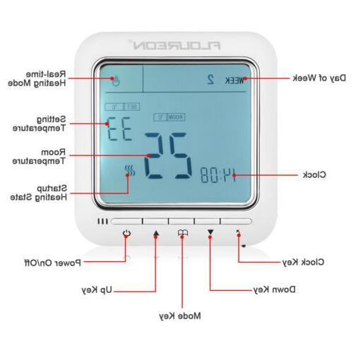 Digital Dual Temperature Display Temp NTC