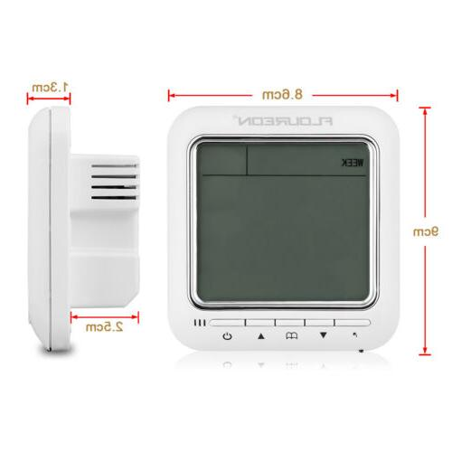 Digital Programmable Thermostat Home Temperature Controller Sensor