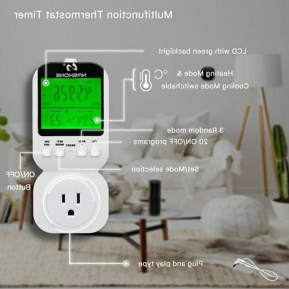 Digital Thermostat Wall Hanging Temperature Controllers Supply