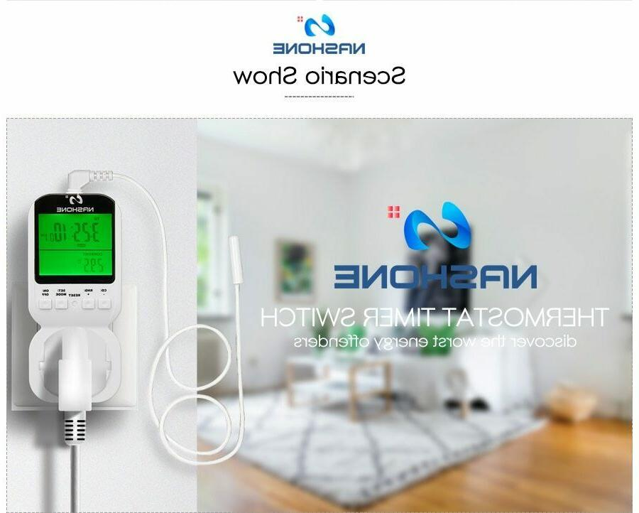 Digital Programmable Thermostat Wall
