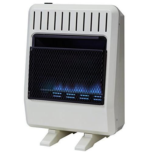 dual fuel vent blue flame