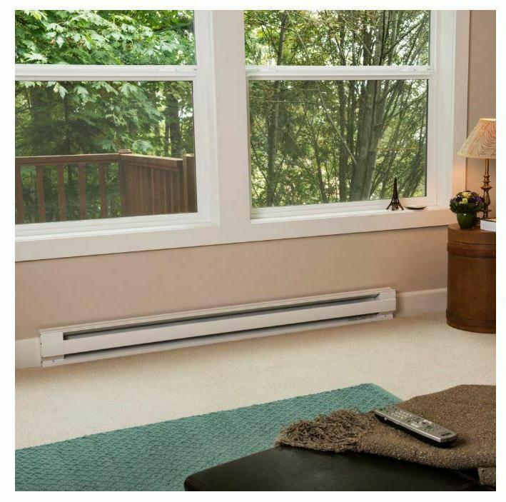 Electric Heater 2,000 Watt Convection Heating White