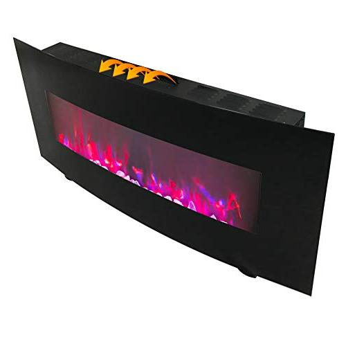 """FLAME&SHADE Electric Small 48"""" Free Standing Wall Mount - - - Remote"""