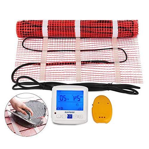electric radiant floor heating mat