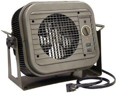 Electric Space Heater 4000-Watt Utility Fan Cabinet with The
