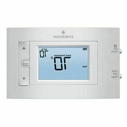 Emerson Conventional Digital Non-Programmable Thermostat