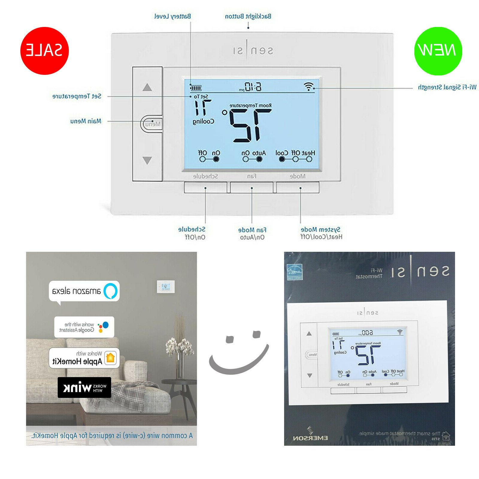 Sensi Emerson Model Wi-Fi Thermostat New Factory