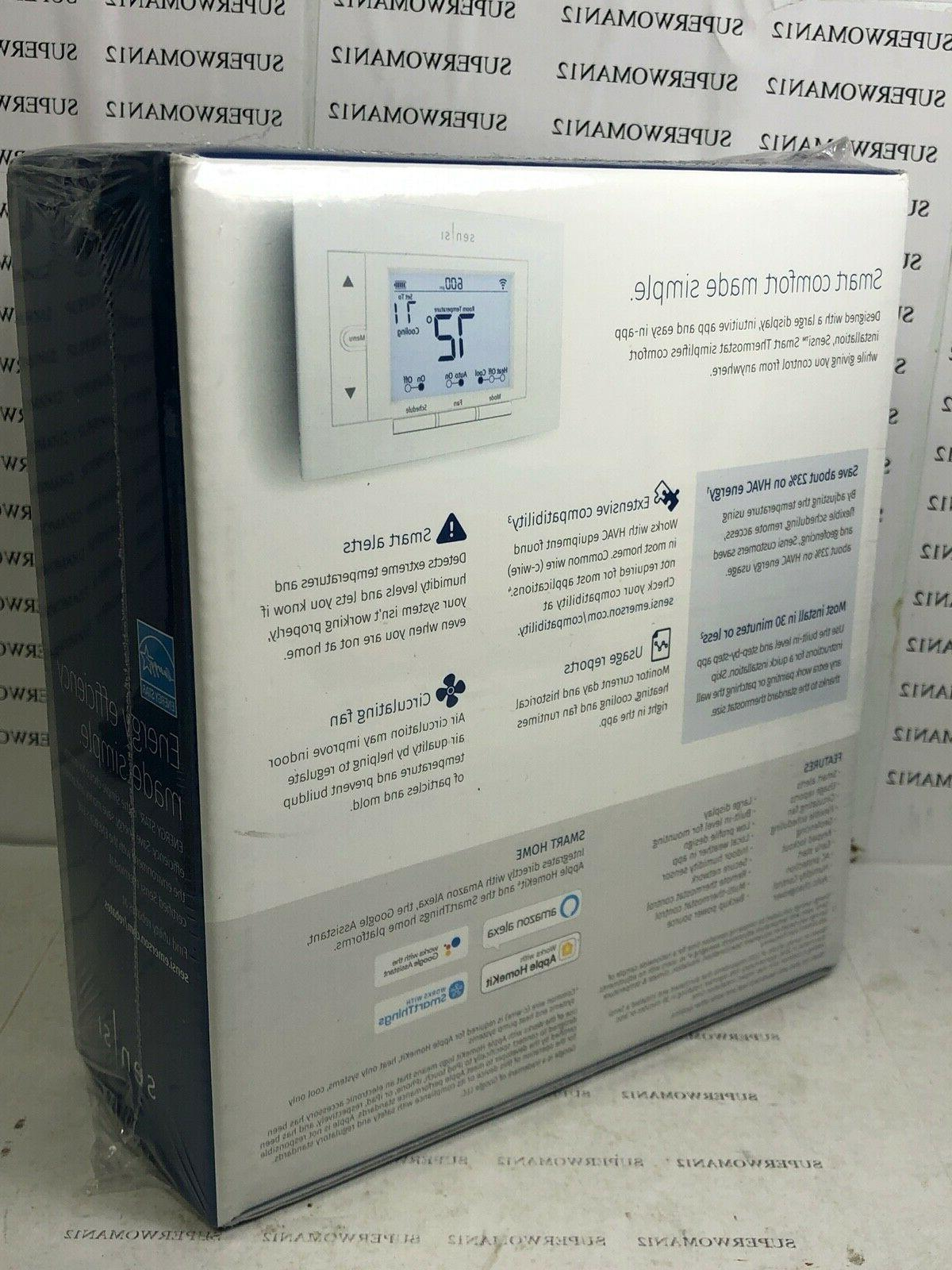 Emerson Sensi Home Thermostat Sealed in