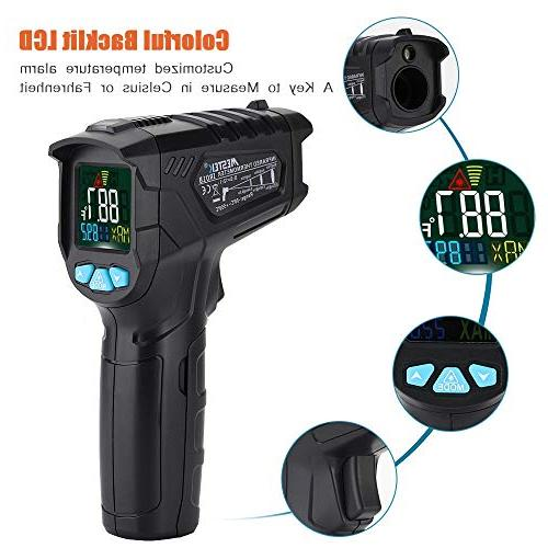 Infrared Laser IR Gun for Kitchen Food Cooking Thermostat with Flashlight Backlight