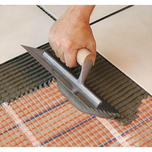 8 30 in. Underfloor Tile Heating