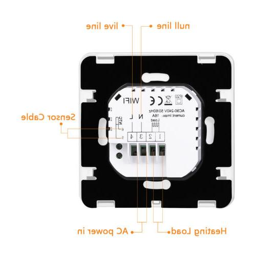FLOUREON Smart WiFi Digital Thermostats for Alexa Google