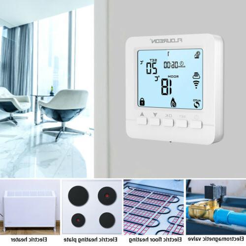 FLOUREON Smart WiFi Digital Thermostats Alexa Google